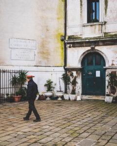 Gondoliere, Venedig, historisches Zentrum, Venetien, Italien, Norditalien, Europa
