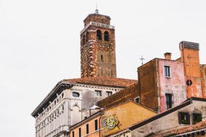 Streetart trifft historisches Zentrum, Venedig, Venetien, Italien, Norditalien, Europa