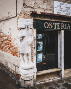Art, Osteria l'Orto dei Mori, Venice, historical center, Veneto, Italy, northern Italy, Europe