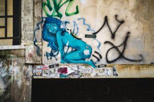 Streetart, Venedig, historisches Zentrum, Venetien, Italien, Norditalien, Europa