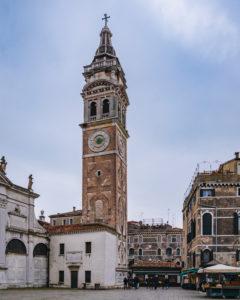 Kirchturm, Venedig, historisches Zentrum, Venetien, Italien, Norditalien, Europa