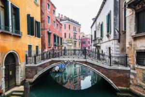 Brücke, Kanal, Venedig, historisches Zentrum, Venetien, Italien, Norditalien, Europa