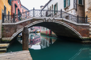 Bridge, Canal, Venice, Historic Center, Veneto, Italy, Northern Italy, Europe