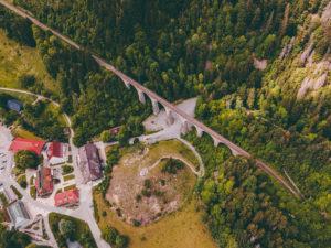 Schwarzwald, Höllental, Viadukt, Ravennaschlucht, Hofgut Sternen, Baden-Württemberg, Deutschland, Europa