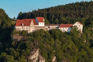 Burg Wildenstein, Oberes Donaultal, Schwäbsiche Alb, Leibertingen, Baden-Württemberg, Deutschland, Europa