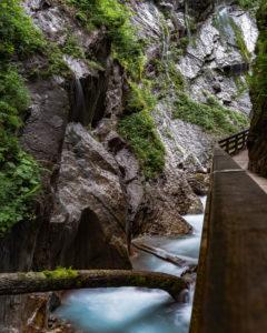 Wimbachklamm, Ramsau, Berchtesgaden, Berchtesgadener Land, Bayern, Deutschland, Europa