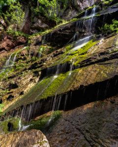 Wimbachklamm, Ramsau, Berchtesgaden, Berchtesgadener Land, Bavaria, Germany, Europe