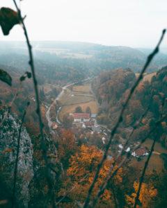 Lautertal, Große Lauter, Schwäbische Alb, Gundelfingen, Baden-Württemberg, Deutschland, Europa