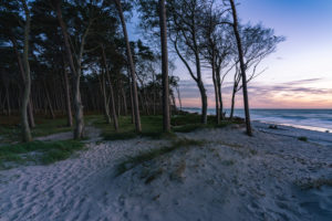 Weststrand, Ostsee, Fischland, Darß, Zingst,  Sonnenuntergang, Ostseeküste, Halbinsel, Abtragungsküste, Deutschland, Europa