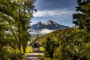 Chapel, Watzmann in Berchtesgaden