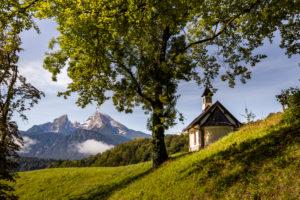 Kapelle, Watzmann in Berchtesgaden