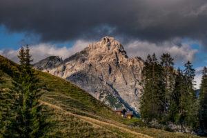 Idyllische Almlandschaft, Berchtesgaden, Berchtesgadener Land, Oberbayern, Bayern,  Deutschland, Alpen, Berge, Berchtesgadener Berge, Salzburger Land