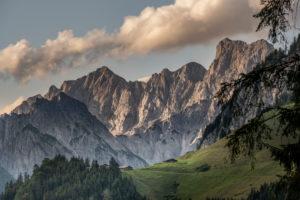 Almen in den Bergen, Berchtesgaden, Berchtesgadener Land, Oberbayern, Bayern,  Deutschland, Alpen, Berge, Berchtesgadener Berge,