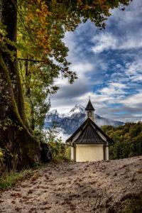 Watzmann, Kapelle, Berchtesgaden, Berchtesgadener Land, Oberbayern, Bayern,