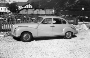 A BMW V8 3200 Super, Germany 1950s.