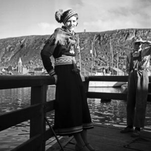 A travel to Norway, 1930s.