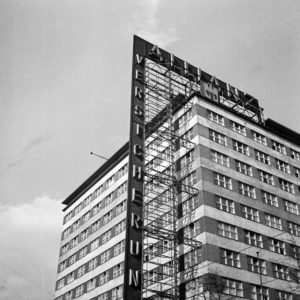 Building of the Allianz Versicherung insurance company, Germany 1930s.