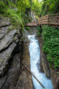 Germany, Bavaria, Berchtesgadener Land, Ramsau, Wimbachklamm near Ramsau