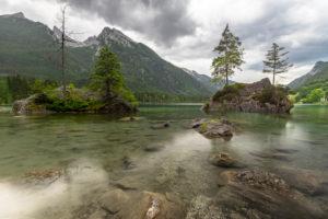 Deutschland, Bayern, Berchtesgadener Land, Ramsau, Hintersee