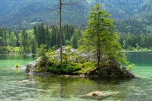 Germany, Bavaria, Berchtesgaden region, Ramsau, Hintersee
