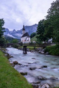 Germany, Bavaria, Berchtesgaden region, Ramsau, parish church St. Sebastian in Ramsau
