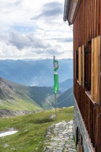 Europa, Österreich, Tirol, Osttirol, Kals am Großglockner, Blick von der Sudetendeutschen Hütte auf die Steineralm