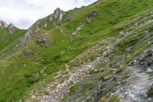 Europe, Austria, Tyrol, East Tyrol, Kals am Großglockner, Sudeten German High Trail in the Hohe Tauern