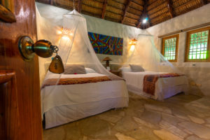 America, Caribbean, Greater Antilles, Dominican Republic, Cabarete, hotel room at Natura Cabana Boutique Hotel & Spa