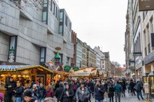 Europa, Deutschland, Bayern, München, Weihnachtsmarkt in der Münchner Innenstadt