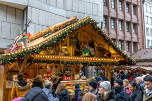 Europa, Deutschland, Bayern, München, Innenstadt, Marienplatz, Weihnachtsmarkt am Marienplatz in München