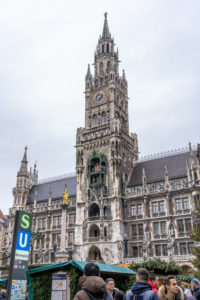 Europe, Germany, Bavaria, Munich, city center, Marienplatz, Christmas market