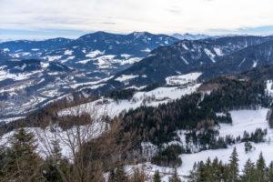 Europa, Österreich, Berchtesgadener Alpen, Salzburg, Werfen, Ostpreussenhütte, Blick auf die Salzburger Schieferalpen