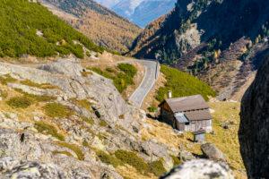 Flüela Pass, Canton of Grisons, Lower Engadin, Switzerland