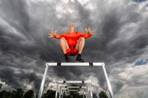 Man, 21 years, athletics, jumping strength training, Baden-Württemberg, Germany