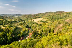 Falkenstein, Palatinate Forest, Rhineland Palatinate, Germany
