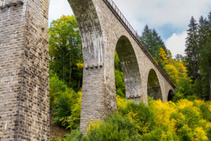 Viaduct Ravennaschlucht, Black Forest, Baden-Württemberg, Germany