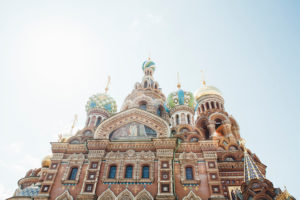 Church of the Savior on Spilled Blood, St Petersburg,