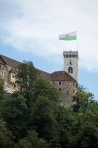 Ljubljanski Grad: castle over the city, Slovenia