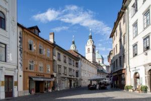 Cathedral of St. Nicholas in Ljubljana, Slovenia