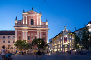 St. Nicholas Cathedral at the blue hour