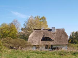 Haus auf Hiddensee, Mecklenburg-Vorpommern, Deutschland