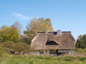 House on Hiddensee, Mecklenburg-West Pomerania, Germany