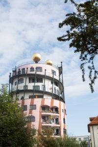 Hundertwasser House in Magdeburg