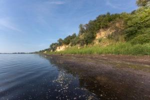 Steilküste in der Wismarer Bucht, Wismar, Deutschland