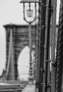 Brooklyn Bridge in New York City, United States, Manhattan, United States