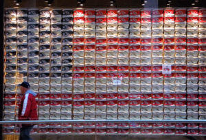 Shoe Store Converse in Manhattan, New York, USA,