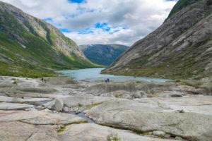 Glacier lake Nigardsbreen, Jostedalsbreen, Jostedal, Sogn og Fjordane, Norway, Scandinavia, Europe