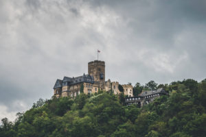View of Lahneck Castle