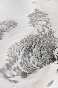 Switzerland, Canton of Valais, Saas Valley, Saas-Fee, Allalingletscher glacier crevasses