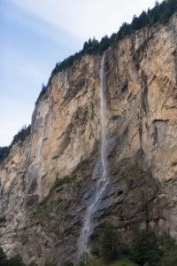 Switzerland, Canton Bern, Bernese Oberland, Lauterbrunnen, Staubbach Falls
